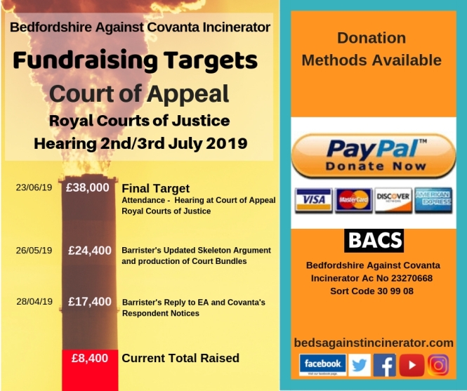 Fundraising Chimney Appeal Hearing 040419